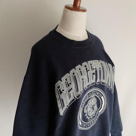 80's USA College Printed Sweat Shirt