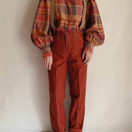 "70's - 80's  French "" Levis "" Painter Pants"