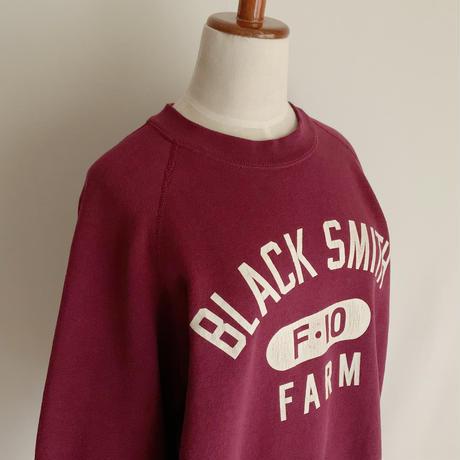 80's - 90's USA  BLACK SMITH FARM Printed Sweat Shirt