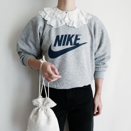 "70's-80's USA "" NIKE "" Swoosh Printed Sweat Shirt"