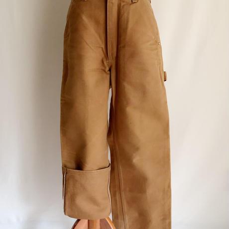 """80's -90's USA """" Carhartt """" Brown Duck Painter Pants"""