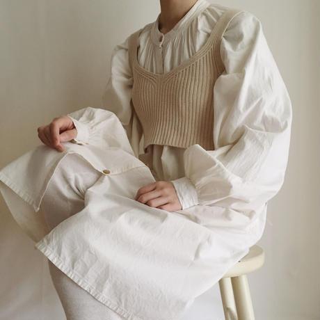 cotton over long dress