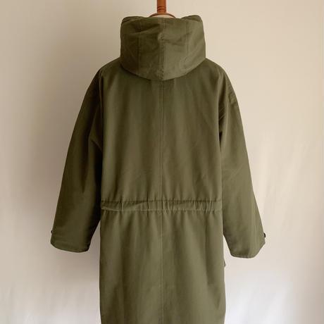 "70's - 80's Euro Vintage "" hettemarks "" A Line Hooded Coat"