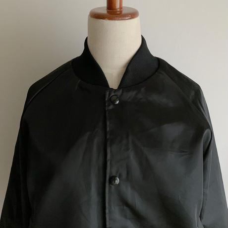 "80's USA Dead Stock "" Country Western Dancing "" Nylon Satin Varsity Jacket"