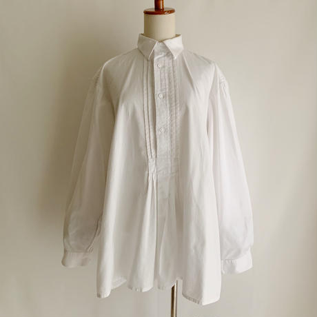 Euro Vintage Cotton Folk Design Shirt