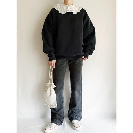 90's USA Mockneck Sweat Shirt