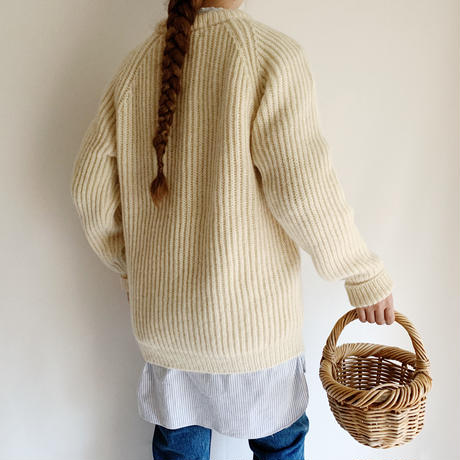80's UK Rib Knit Sweater