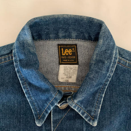 "80's USA "" Lee "" 220 Denim Jacket"