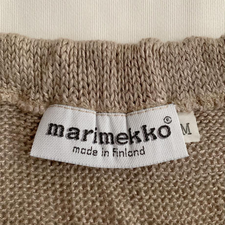 "Euro Vintage "" marimekko "" Summer Knit Long Skirt"