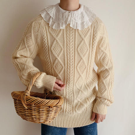 Irish Cable Knit Sweater
