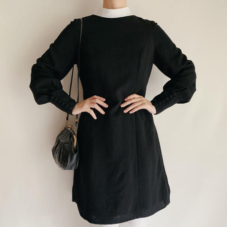 Euro Vintage Bicolor Mini Dress