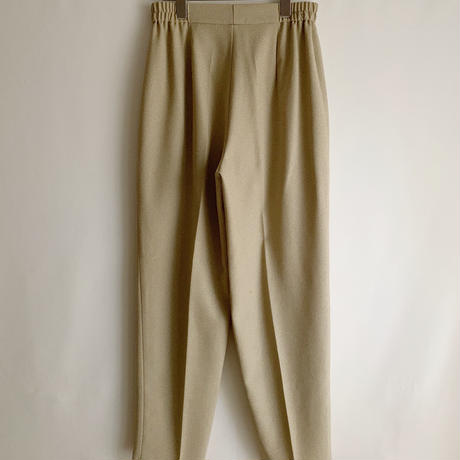 Euro Vintage Center Pressed Tapered Pants