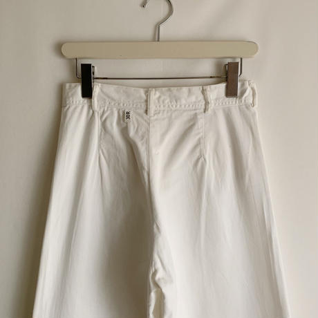 50's US Navy Cotton Sailor Wide Leg Pants