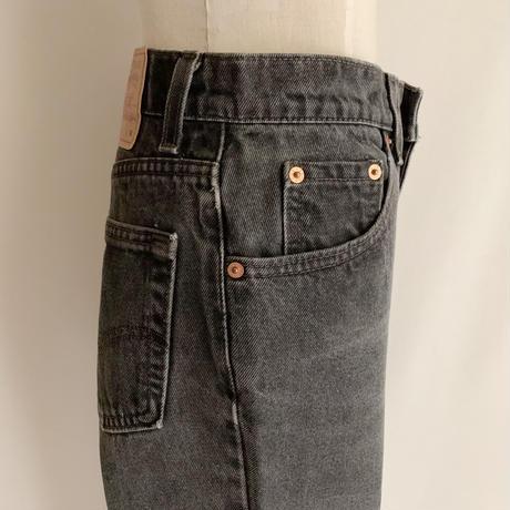 """90's USA """" Levis 517 """" Black Denim Pants"""