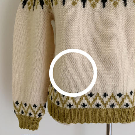 70's Nordic Knit Sweater