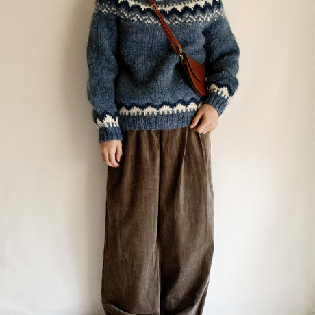 Icelandic Lopi Hand Knit Sweater