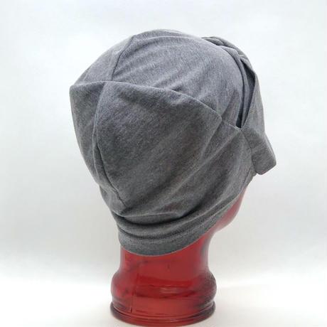 医療用ニット帽子 ターバン風ニット帽子 天竺(UV加工)女性用 レディース ケア帽子/送料無料
