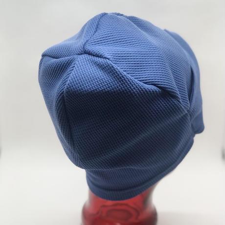 医療用ニット帽子 ターバン風ニット帽子 ワッフル生地 女性用 レディース ケア帽子/送料無料