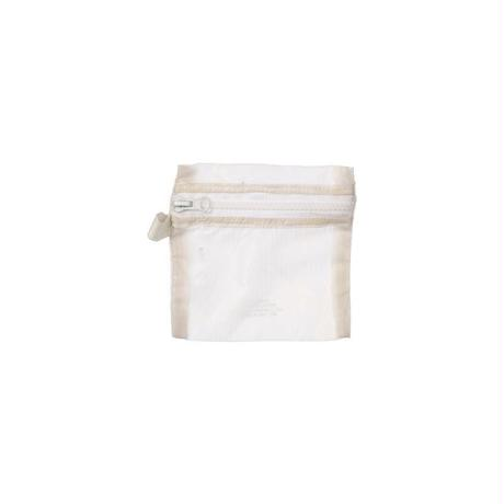 V.PARACHUTE LIGHT POUCH 〈Small/White〉
