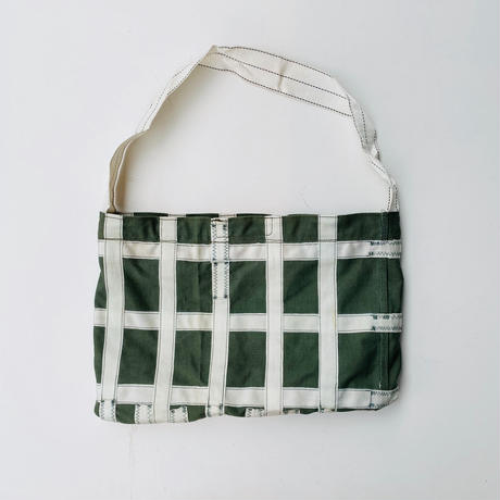 【USED】VINTAGE PARACHUTE FABRIC BAG