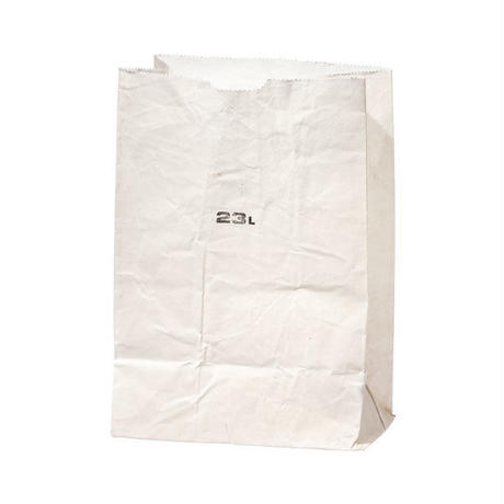 GROCERY BAG WHITE 〈23L〉