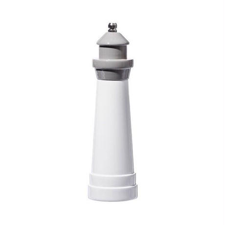 LIGHTHOUSE SHAPED SALT & PEPPER MILL Gray〈8〉
