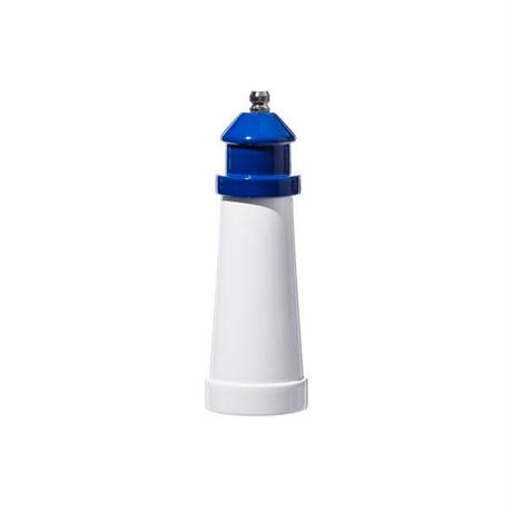 LIGHTHOUSE SHAPED SALT & PEPPER MILL Blue〈6〉