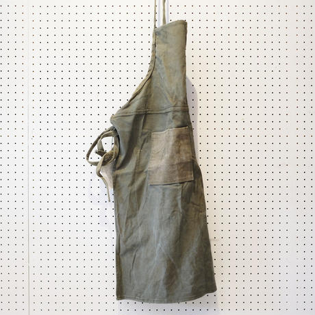 【USED】VINTAGE TENT FABRIC APRON