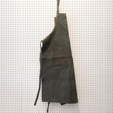 【USED】VINTAGE TENT FABRIC APRON_H