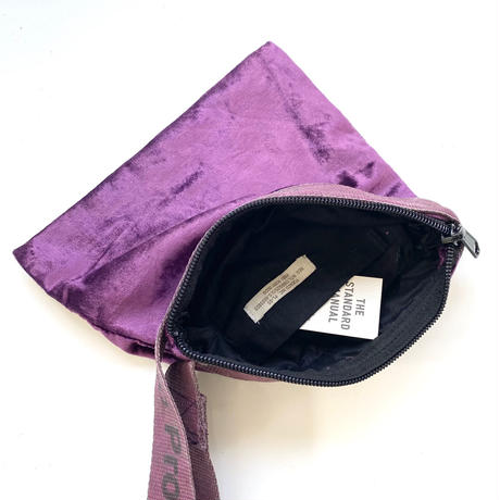 VINTAGE SLING BELT POUCH〈PURPLE〉