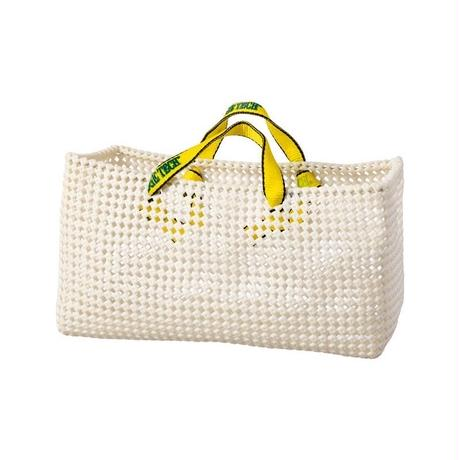 PLASTIC STRAW BAG〈White〉