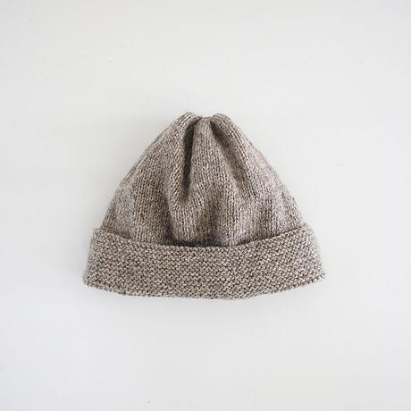 SAILOR KNIT CAP_WARM GRAY