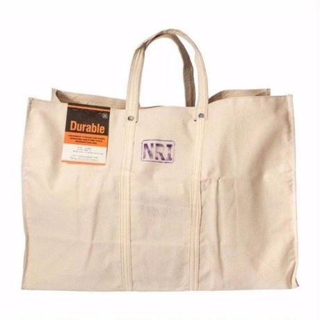 LABOUR TOTE BAG OFF WHITE〈L〉