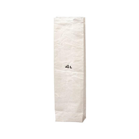 GROCERY BAG WHITE 〈4L〉