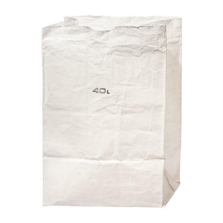 GROCERY BAG WHITE 〈40L〉