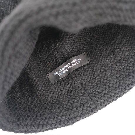 SAILOR KNIT CAP_BLACK