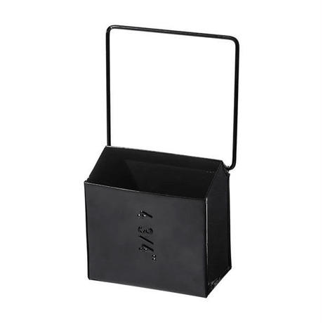 HANGING TOOL STORAGE BOX〈WIDE BLACK〉