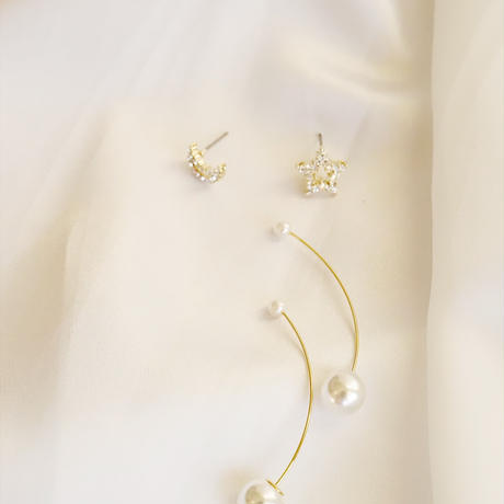 3way Star Moon Pierce