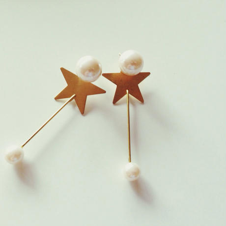 Twinkle Twinkle Star earrings(イヤリング、ピアス)
