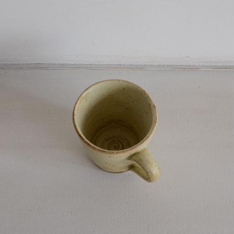佐藤敬 黄粉引 コーヒーカップ