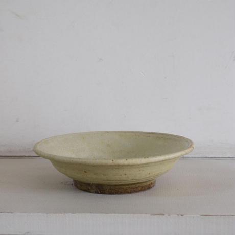 佐藤敬 黄粉引 平鉢(6寸)