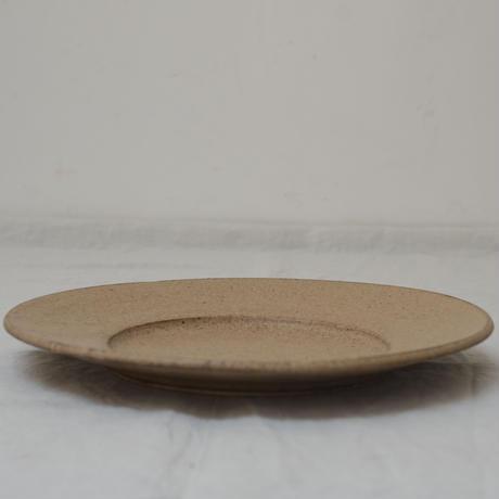 濃いデザートマット 8寸皿