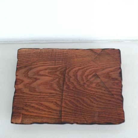 KINTA 木皿 180×230 雷電木