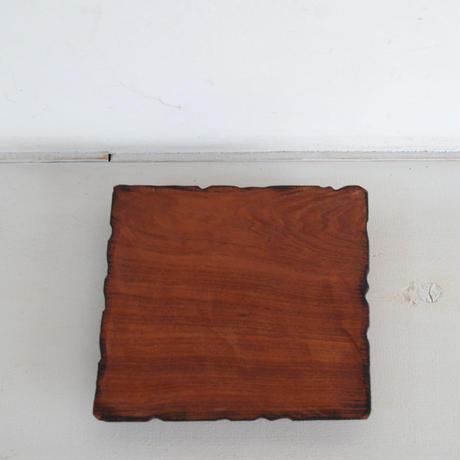 KINTA 木皿 180×180 雷電木