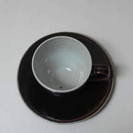 オリジナル カップ&ソーサー 大 白・黒