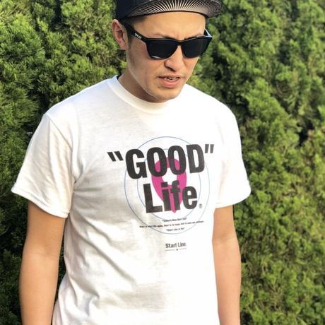 【L残り1点】GOOD Life Active T-shirt/グッドライフアクティブTシャツ (White/ホワイト)