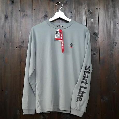 【S,M残り1点】StartLine Active Long T-shirt/アクティブロングTシャツ(Gray/グレー)