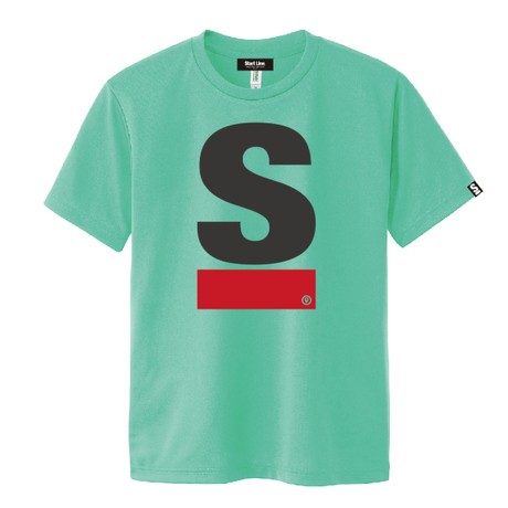 Big S Active T-shirt/ビッグエスアクティブTシャツ(Green/グリーン)  ウィメンズ限定カラー