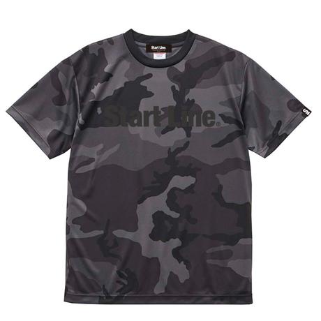 【残り1点】Black Camo Active T-shirt/ブラックカモアクティブTシャツ