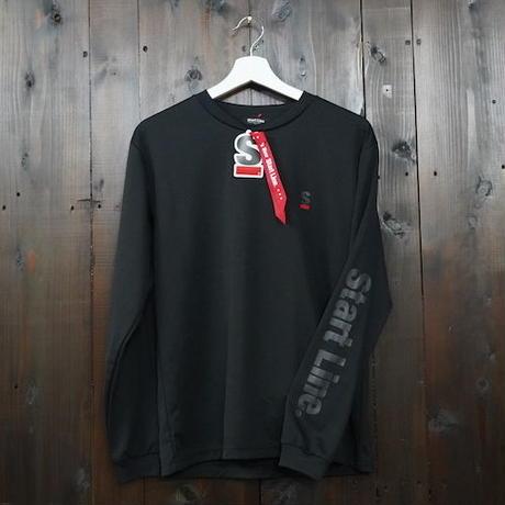 【S,L残り1点】StartLine Active Long T-shirt/アクティブロングTシャツ(Black/ブラック)
